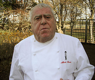 Albert Roux - Chef Albert Roux, photographed in 2010 by Richard Vines