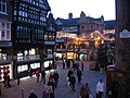 Chester Cross and the Christmas lights - 2007 - geograph.org.uk - 632826.jpg