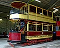 Chesterfield tram No. 7 at Crich Tramway Village - geograph.org.uk - 1290984.jpg