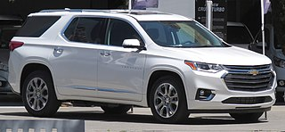 Chevrolet Traverse Motor vehicle