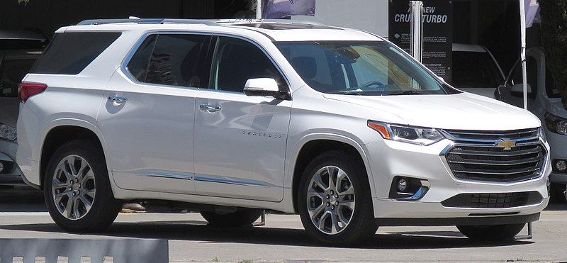 File:Chevrolet Traverse 3.6 Premier AWD 2018.jpg