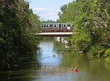 Brown line cta wikipedia a brown line train crosses the north branch of the chicago river sciox Gallery