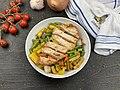 Chicken breast on Vegetables.jpg