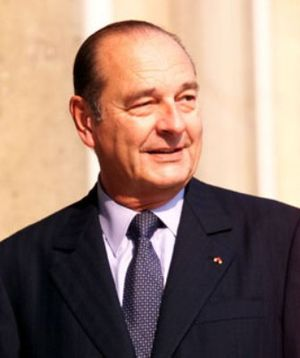 21st G7 summit - Image: Chirac USA