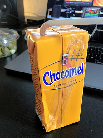 Chocomel - Chocomel in a carton package