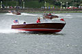 Chris Craft Deluxe Runabout 1962 runnin 01 LakeMirrorClassic 17Oct09 (14599914712).jpg