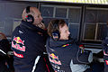 Christian Horner and Adrian Newey 2013 Catalonia test (19-22 Feb).jpg