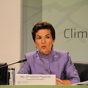 affiche Christiana Figueres