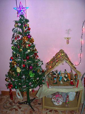 Christmastide - Image: Christmas Crib
