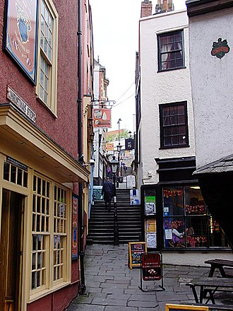 Christmas Steps, Bristol - Image: Christmasstepsup
