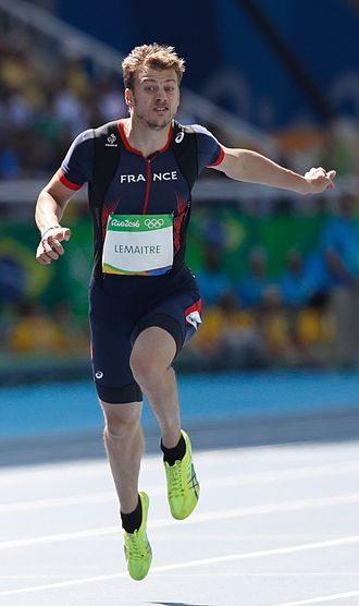 Christophe Lemaitre - Lemaitre during the 2016 Olympic Games in Rio de Janeiro