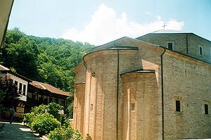Macedonian Orthodox Church – Ohrid Archbishopric - Image: Church Bogorodica Kicevo MK