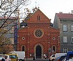 Church of St Vincent de Paul, 19 sw. Flipa street, Kleparz, Krakow, Poland.jpg