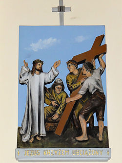 Church of the Assumption of Mary in Kock - Stations of the Cross - 02.jpg