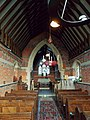 Church of the Holy Trinity - interior nave & chancel arch - East Grimstead, Wiltshire, England.jpg