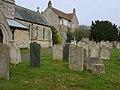 Churchyard of St John the Baptist, Colsterworth - geograph.org.uk - 406984.jpg