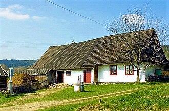 Operation Vistula - Lemko house in Nowica