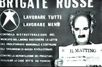 Raffaele Cutolo - Cirillo (pictured) during his kidnapping by the Red Brigades