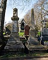 City of London Cemetery - Boner and Mitchell monuments.jpg