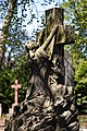 City of London Cemetery To Thy Cross Simply I Cling monument sculpture 2.jpg