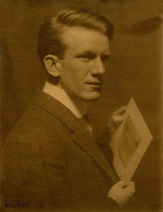 Charles James Martin (artist) - Charles James Martin, photographed by Caroline Geiger, circa 1910.