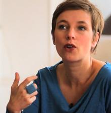 Clémentine Autain en juin 2011.