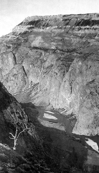 Clarks Fork Yellowstone River - Image: Clarks Forkofthe Yellowstone 1922