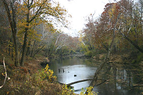 Clarks River in the fall (6887005449).jpg