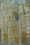 Claude Monet - Cathédrale de Rouen. Harmonie bleue.jpg
