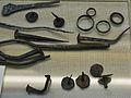 Claus i altres peces de bronze, primer quart del segle I aC, Museu Soler Blasco de Xàbia.JPG