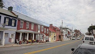 Clear Spring, Maryland - Cumberland Street in Clear Spring, 2010