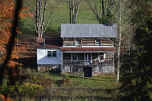 Taylor County, West Virginia - Image: Clelland House at maximum zoom