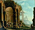 Clemente Spera and Sebastiano Ricci - Antique ruins with figures.jpg