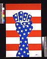 Clenched fist with stars and stripes LCCN2017647455.jpg