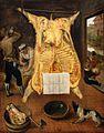 Cleve, Maerten van - Ausgeweideter Ochse - 1566.jpg