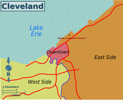 400px-Cleveland_Wikivoyage_map_PNG Coast Map Of Ohio on coast map california, capital of ohio, northeast ohio, coast of spain, east coast time is ohio,