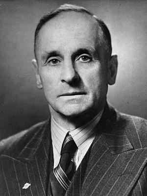 Clifton Webb (politician) - Webb in 1949