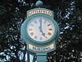 Clock at Littlefield Bldg., Austin, TX IMG 6251.JPG