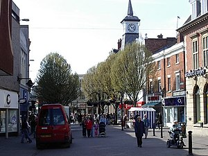 Nuneaton - Image: Clocktower in the marketplace geograph.org.uk 878152