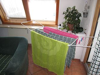 Clothes horse - A drying rack