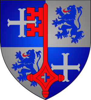 Betzdorf, Luxembourg - Image: Coat of arms betzdorf luxbrg