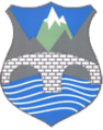 Coat of arms of Rostuše Municipality.png