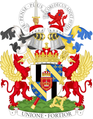 Earl of Mar - Image: Coat of arms of the Earl of Mar and Kellie, premier viscount of Scotland