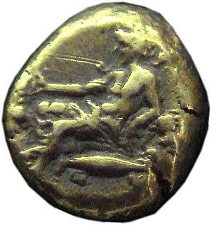 Mysia - Coin of Mysia, 4th century BCE.