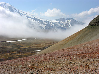 Novarupta - Colorful ash in the Valley of Ten Thousand Smokes