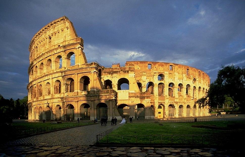 ColosseumAtEvening