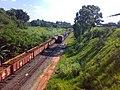 Comboios parados no pátio da Estação Ferroviária de Itu - Variante Boa Vista-Guaianã km 201 - panoramio.jpg