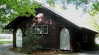 Comfort Station (Milton, Massachusetts) - Image: Comfort Station Milton MA 03