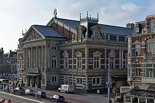 Concertgebouw Concert hall in Amsterdam, Netherlands