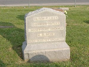Confederate Martyrs Monument in Jeffersontown - Image: Confederate Martyrs J Town 3